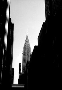 New-York en fin-septembre 2001 - Le Chrysler building